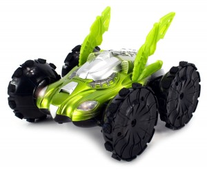 This is so Cool! Velocity Toys Amphibious Aqua Beast Electric RC Stunt Car is 46% Off!