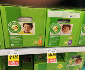 Diaper Deal! Boxes of Comforts For Baby Diapers Only $10.99 at Fred Meyer! No Coupons Needed!