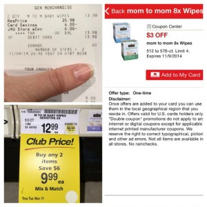 Baby Deal! Huge 512-576 count Boxes of Mom 2 Mom Wipes Only $6.99 at Safeway!