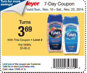picture about Tums Coupon Printable identified as Tums Exactly $2.69 at Fred Meyer!