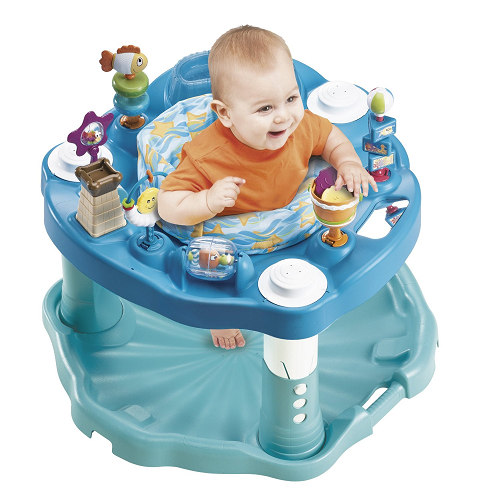 Lowest Price Evenflo Exersaucer Beach Baby Only 35 88