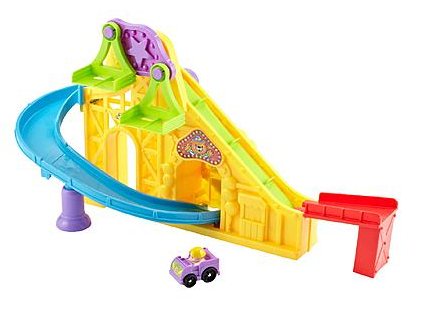 Fisher-Price Little People Wheelies Roller Coaster