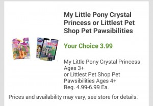 Stocking Stuffers! $1.80 for Littlest Petshop Pawsabilities at Fred Meyer!
