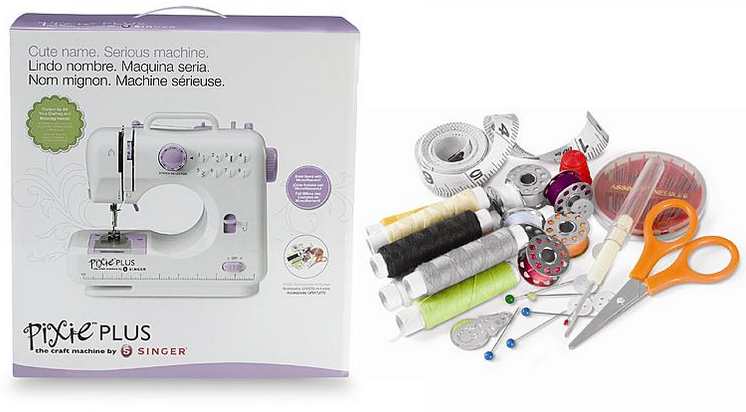 Singer Sewing Co Pixie Plus Craft Sewing Machine Set 4040 Extraordinary Pixie Plus Sewing Machine