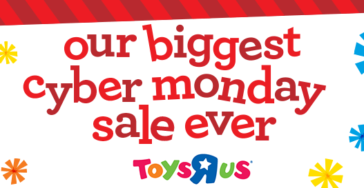 live now toys r us cyber monday sale. Black Bedroom Furniture Sets. Home Design Ideas