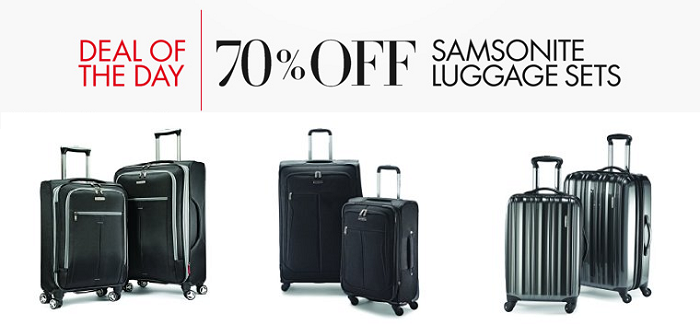 Luggage Sale On Amazon 70% OFF!