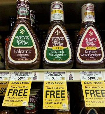 Buy Manufacturer Coupons >> Ending Today! Enjoy Your Salad For Less! Ken's Salad Dressing As Low As $1.49 at Safeway!