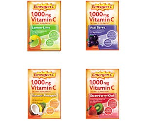 Order a Free Sample Pack of Emergen-C Vitamin Drink Mix