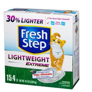 Awesome Cat Litter Deal at Safeway! Fresh Step Lightweight Extreme Just $5.99 a Box!