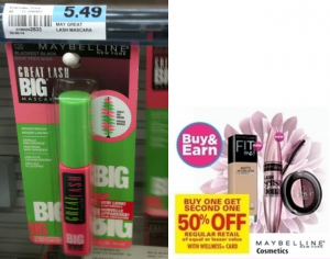 HOT New $3/1 Maybelline Mascara Printable Coupon! Mascara Only $1.12 at Rite Aid!