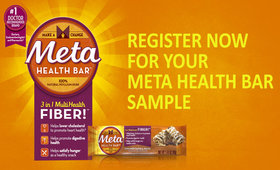 Get a free Meta Health Bar Sample! Limited Supplies!