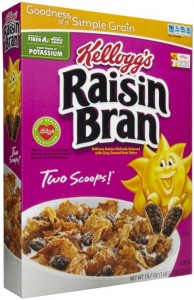 Great Buys on Kellogg's Cereal at Albertsons With New Coupons! Raisin Bran, Frosted Mini Wheats & More!