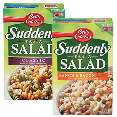 For Your Weekend Barbecue! Suddenly Salad Just $ 74 at Safeway!