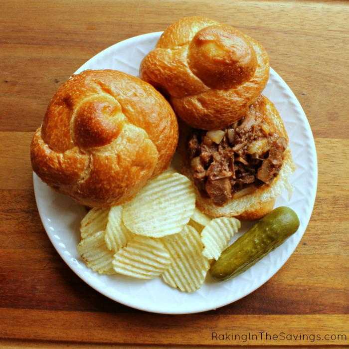 Sloppy Joes with Leftover Roast Beef ~ Turn your leftover pot roast into another meal in 20 minutes!