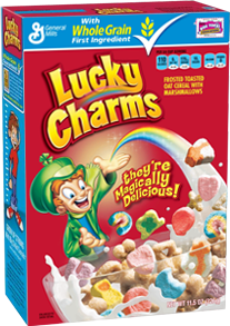 SAVE $ ON TWO Big G Cereals. when you buy TWO BOXES any flavor General Mills cereal listed: Cheerios™ • Cinnamon Toast Crunch™ • Lucky Charms™.