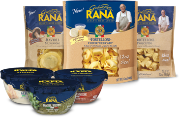 Giovanni Rana Refrigerated Pasta or Sauce Only $2 69 at