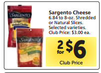Sargento Sliced Cheese Just $2.45 at Safeway w/Rare Printable Coupon!