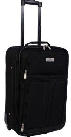 Protege Monticello 21″ Upright Carry-On Luggage $19!