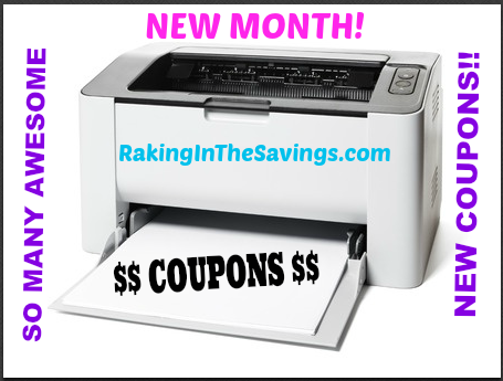 new month coupons
