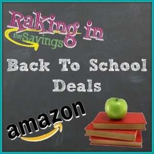 Amazon Back To School Deals For The Week of 7/29