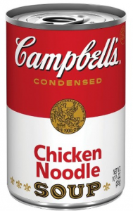 Campbell's Tomato or Chicken Noodle Condensed Soup Only $0.58!