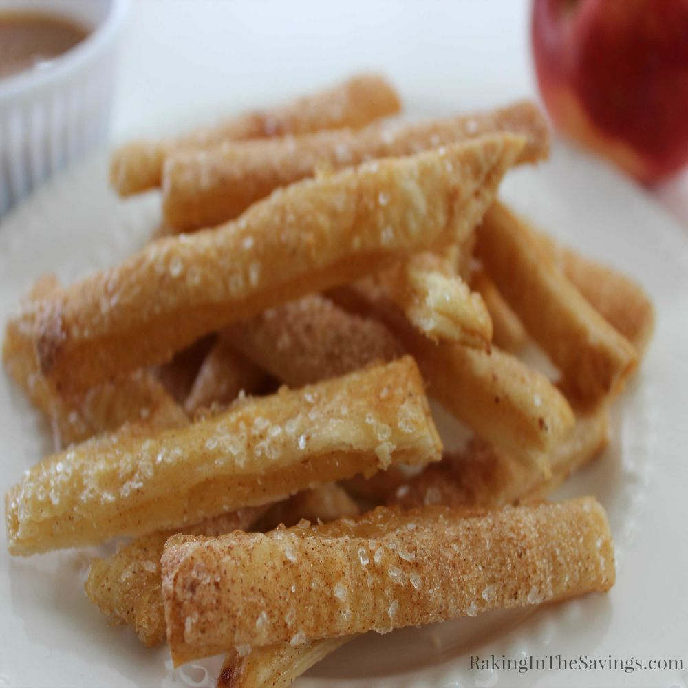 Easy and Delicious Apple Pie Fries Recipe!