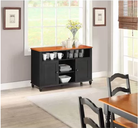 Better Homes And Gardens Autumn Lane Black Buffet