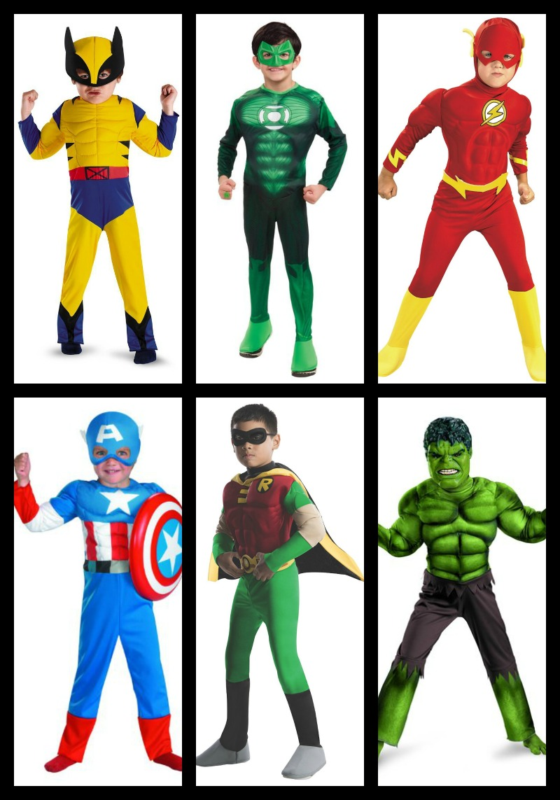 Boys Superhero Costumes 2