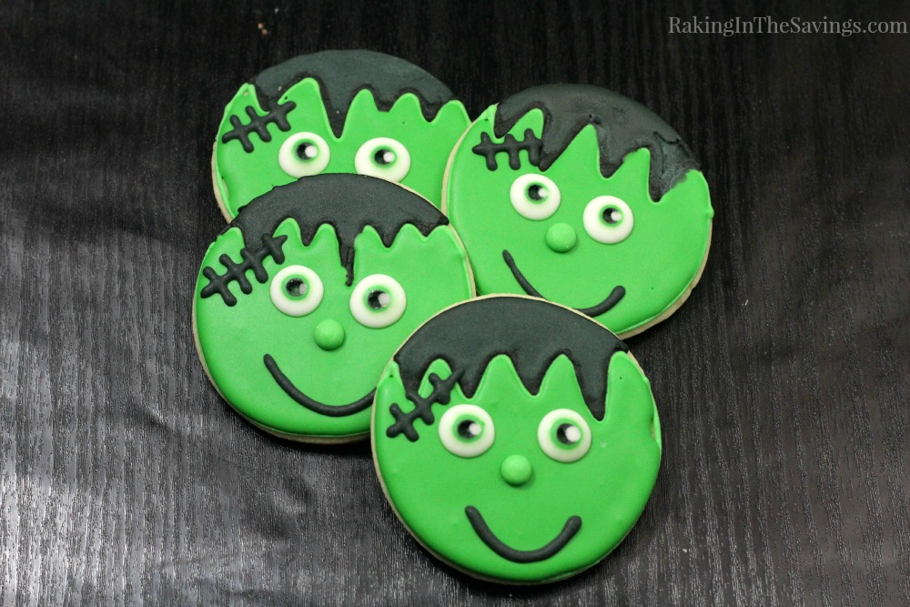 Halloween Sugar Cookie Friendly Frankenstein