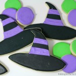 Halloween Sugar Cookies Witches Hats
