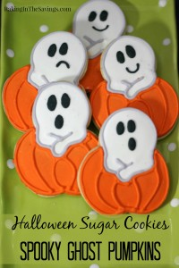 Halloween Sugar Cookies Spooky Ghost Pumpkins
