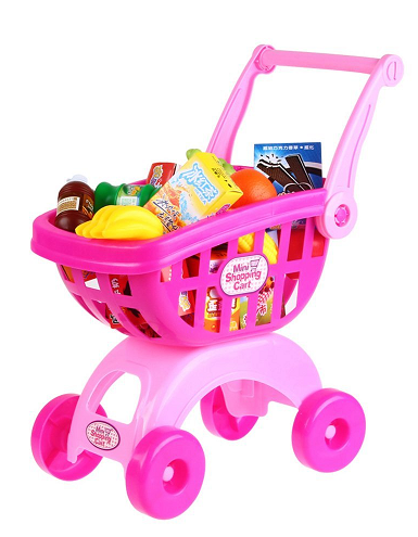 holy stone mini shopping cart pretend play toy for toddler. Black Bedroom Furniture Sets. Home Design Ideas