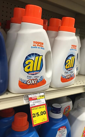 all laundry detergent for 150 a bottle
