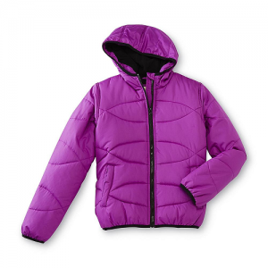 Canyon River Blues Girls' Hooded Bubble Jacket $14.99 (Reg $70)
