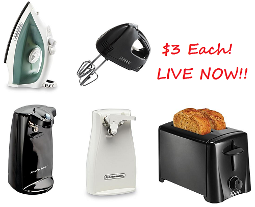 Bon Kmart Small Kitchen Appliances Only $3 LIVE NOW!! (As Low As $2.55 For One  Of Them With Coupon!)