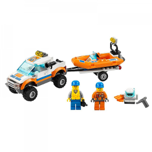 LEGO City Coast Guard 4×4 and Diving Boat $15.99!!