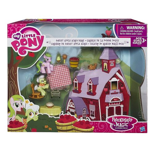 My Little Pony Friendship is Magic Collection Sweet Apple Acres ...