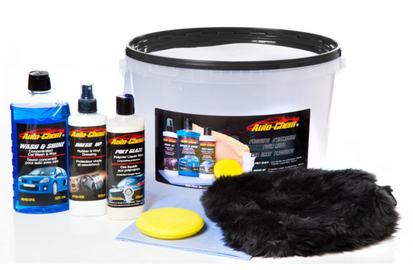 For Your Man Auto Chem Professional Complete Car Care Detailing Bucket Kit Only
