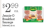 Jennie-O Breakfast Sausage Only $1.99 at Yokes! (Monthly Ad Deal)