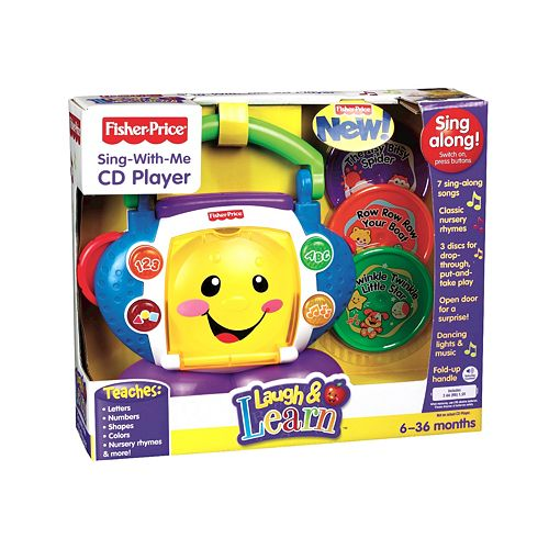 Laugh & Learn Sing-With-Me CD Player | N8904 | Fisher-Price