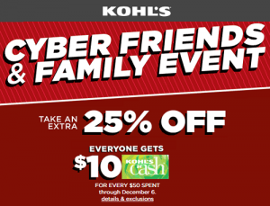 New Coupon Code For 25% OFF At Kohl's!! Plus Kohl's Cash, Stackable Codes & Awesome Sales!!