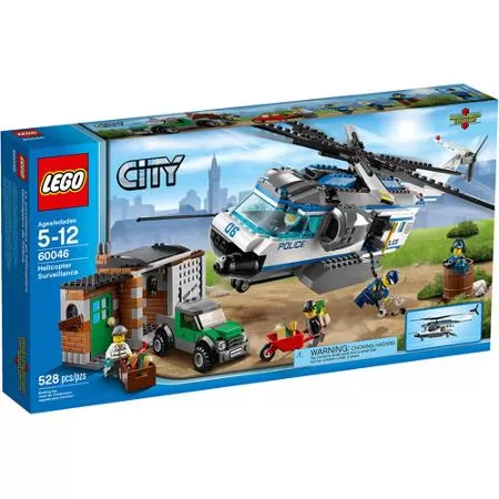 Lego City Police Helicopter Surveillance Building