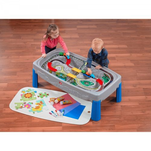Step2 Deluxe Canyon Road Train & Track Table with Train Cars $42.49 (Reg $129.99)