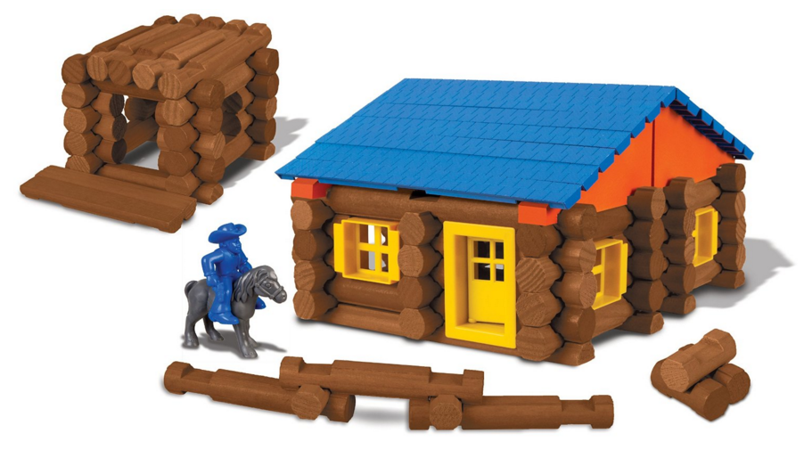 Rare Lincoln Logs Deal! Lincoln Logs Oak Creek Lodge Building Set for ...