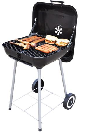 Backyard Charcoal Grill backyard grill 17.5″ charcoal grill $16!