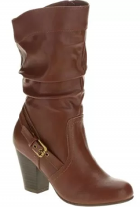 Faded Glory Women's Slouch High Heel Boot -Exclusive Color $14 (Reg $28.97)