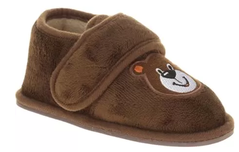 Toddler Boy's Bear Slipper