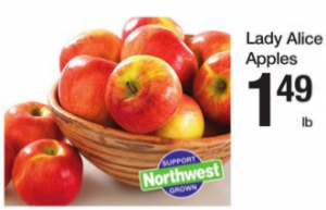 Rare Produce Deal! Lady Alice Apples Just $.42 lb at Fred Meyer!