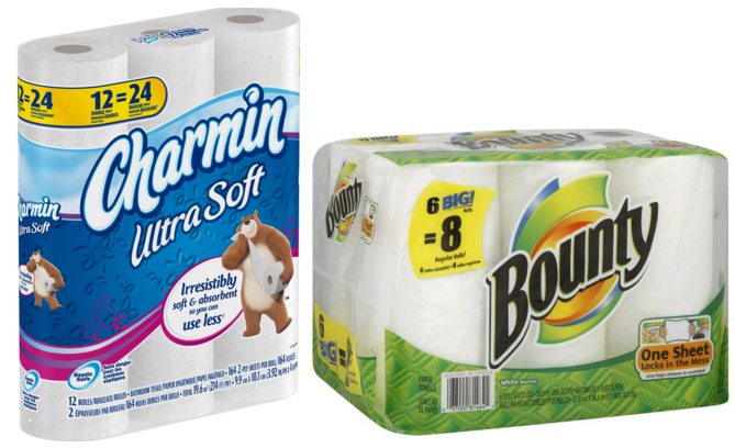 Bounty Quilted Napkins, 1-Ply, In X 12In, /PK, White Bounty Advanced Select-A-Size, 2 x More Absorbent Paper Towels Roll, 11 x inches, White ( Sheets) by Bounty.