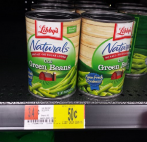 Libby's Canned Vegetables Only $.25 at Walmart With Rare Coupon!